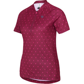 Ziener Cahina Jersey Women red dark